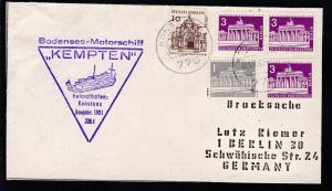 OSt. Konstanz 23.6.67 + Cachet MS