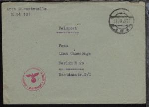 Tarn-Stpl. 24.VIII.43 + BfSt. 10237 (U-Boots-Tender Isar 27. U-Flottille)
