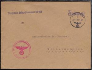 FP d 12.1.42 + Dienststellen-L1 + BfSt. 08463 (Marine-Nachrichtenabteilung West)