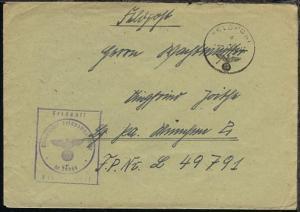 FP d 08.1.43 + BfSt. M 20869 (3. Sperrbrecher-Flottille Sperrbrecher 13)