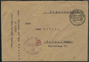 OSt. Wesermünde 20.8.44 + BfSt. M 19343 (2. T-Boot-Flottille T 11) auf FP-Bf.,