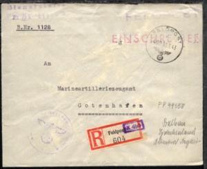 FP a 480 31.3.43 + Dienststellen-L2 + BfSt. 44550B (Admiral Ägäis)