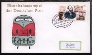 WÜRZBURG-KASSEL b ZUG 039080 29.5.97 auf Bf.