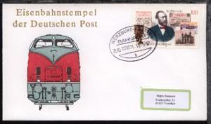 WÜRZBURG-KASSEL b ZUG 039071 30.5.97 auf Bf.