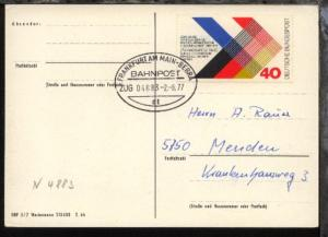 FRANKFURT AM MAIN-BEBRA at ZUG 04883 2.8.77 auf CAK