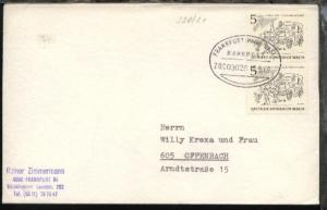 FRANKFURT (MAIN)-BASEL ZUG 03028 15.5.69 auf Bf.