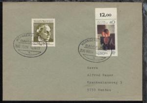 NÜRNBERG-PASSAU h ZUG 00226 14.10.77 auf Bf.