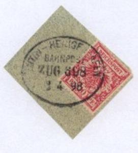EUTIN-HEILIGENHAFEN ZUG 698 1.4.98 auf Bf.-Stück