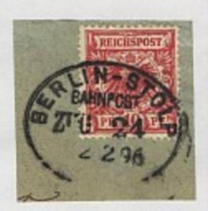 BERLIN-STOLP ZUG 24 2.2.96 auf Bf.-Stück