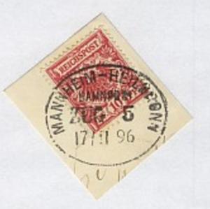 MANNHEIM-HEILBRONN ZUG 5 17.11.96 auf Bf.-Stück