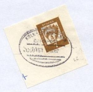 KÖLN-SAARBRÜCKEN ZUG 0151 12.12.62 auf Bf.-Stück