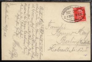 HIRSCHBERG-POLAUN Z. 1399 19.3.28 auf AK