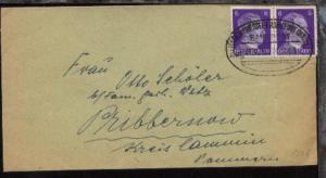 HAGEN (WESTF)-FRANKFURT (MAIN) Zug 0376 14.11.43 auf Bf.