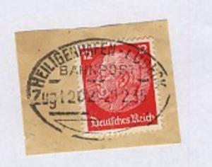 HEILIGENHAFEN-LÜBECK Zug 1202 20.2.35 auf Bf.-Stück