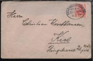HALLE (SAALE)-HANNOVER ZUG 536 16.11.09 auf Bf.