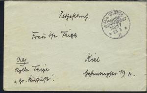 MSP 87 23.3.15 SMS Großer Kurfürst auf Feldpostbrief