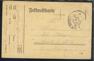 MSP 87 (23.12.17)  SMS Großer Kurfürst auf Feldpostkarte
