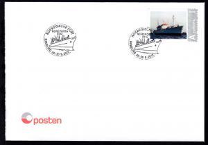 NORWEGISCHE POST NORDPOPSTA 2012 HAMBURG 20.-30.9.2012 auf Brief ohne Anschrift