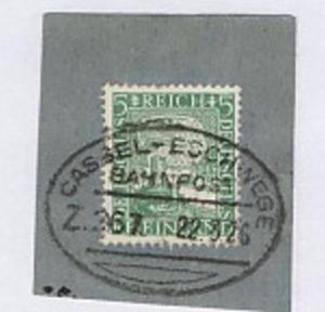 CASSEL-ESCHWEGE Z. 267 22.3.26 auf Bf.-Stück