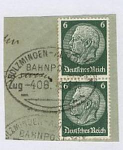 HOLZMINDEN-ALTENBEKEN Zug 408 5.12.35 auf Bf.-Stück