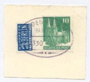 WEIDEN-ESLARN Z. 2330 5.1.51 auf Bf.-Stück