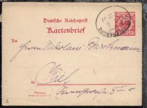 KIEL-FLENSBURG ZUG 6 11.12.97 auf Ktenbf.
