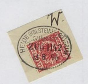 HEIDE (HOLSTEIN)-BÜSUM ZUG 1142 13.8.96 auf Bf.-Stück