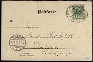 ELMSHORN-BARMSTEDT (HOLST.) ZUG 1 17.1.99 auf CAK