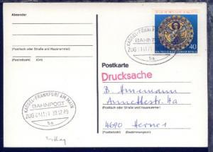 KASSEL-FRANKFURT AM MAIN ba ZUG 014171 30.12.80 auf GSK