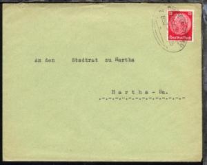 DRESDEN-ZITTAU Z. 852 14.5.35 auf Bf.