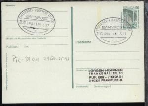 STUTTGART-FRANKFURT (MAIN) c ZUG 39011 30.5.97 auf GSK