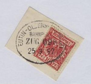 EUTIN-OLDENBURG (HOLST.) ZUG 698 25.3.97 auf Bf.-Stück
