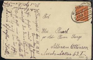 NEUMÜNSTER-HEIDE Z. 1069 31.12.21 auf Neujahrs-Kte, Kte Mgl.