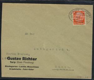 HAMBURG-FLENSBURG Z. 968 7.11.32 auf Firmen-Bf. (Gustav Richter, Tarp)
