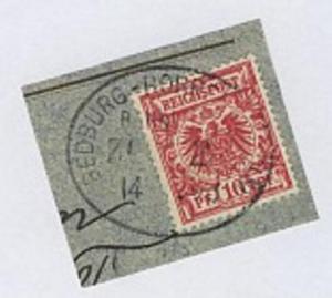 BEDBURG-HORREM (BZ CÖLN) ZUG 2 14.?.98 auf Bf.-Stück