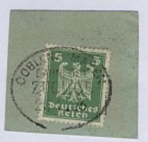 COBLENZ-MAYEN ZUG 1105 21.4.26 auf Bf.-Stück