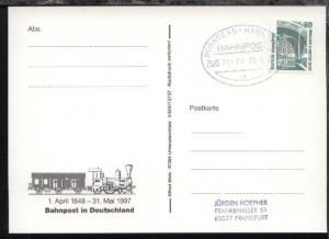 NÜRNBERG-HANNOVER a ZUG 39080 29.5.97 auf AK