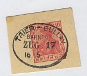 TRIER-BULLAY ZUG 17 16.6.19 auf Bf.-Stück