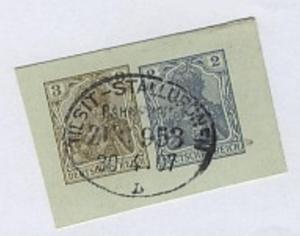 TILSIT-STALLUPÖNEN b ZUG 953 30.4.07 auf Bf.-Stück