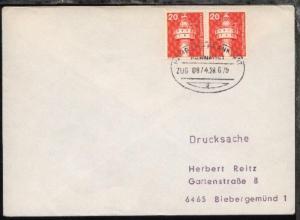 HAMBURG-FRANKFURT g ZUG 0874 28.6.79 auf Bf.