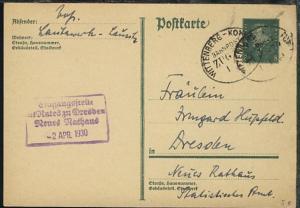 WITTENBERG-KOHLFURT ZUG 679 1.4.30 auf GSK