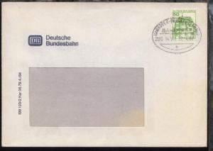 HANNOVER-FRANKFURT (MAIN) h ZUG 14021 22.4.87 auf Fenster-Bf.