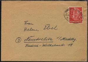 BERLIN-WARNEMÜNDE Z. 0217 30.6.44 auf Bf.