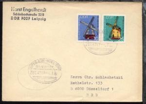 LEIPZIG-KARL-MARX-STADT l ZUG 4717 2.3.82 auf Bf., Bf. kl. Einriss