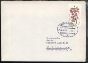 MAGDEBURG-BERLIN d ZUG 02340 13.5.81 auf Bf.