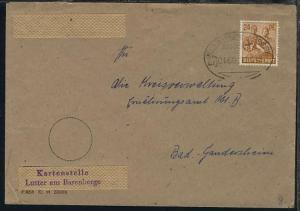 BRAUNSCHWEIG-KREIENSEN Zug 0450 15.6.48 auf Bf. der Kartenstelle