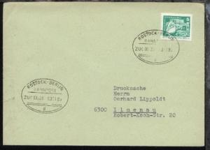ROSTOCK-BERLIN d ZUG 00528 03.01.85 auf Bf.
