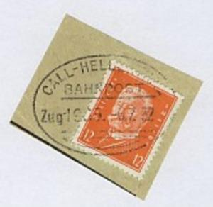 CALL-HELLENTHAL Zug 1985 6.7.32 auf Bf.-Stück