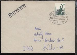 KARLSRUHE-BASEL g ZUG 014171 21.10.89 auf Bf.