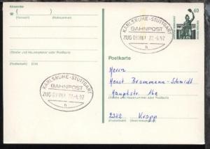 KARLSRUHE-STUTTGART h ZUG 039061 22.6.92 auf GSK